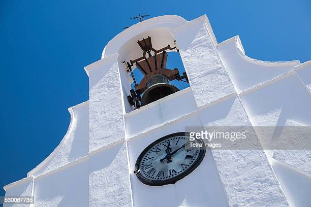 Spain, Mijas, View of San Sebastian Shrine