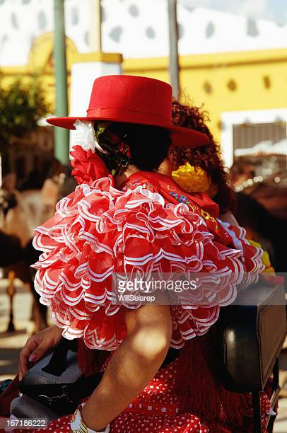 spain - flamenco dancing stock photos and pictures