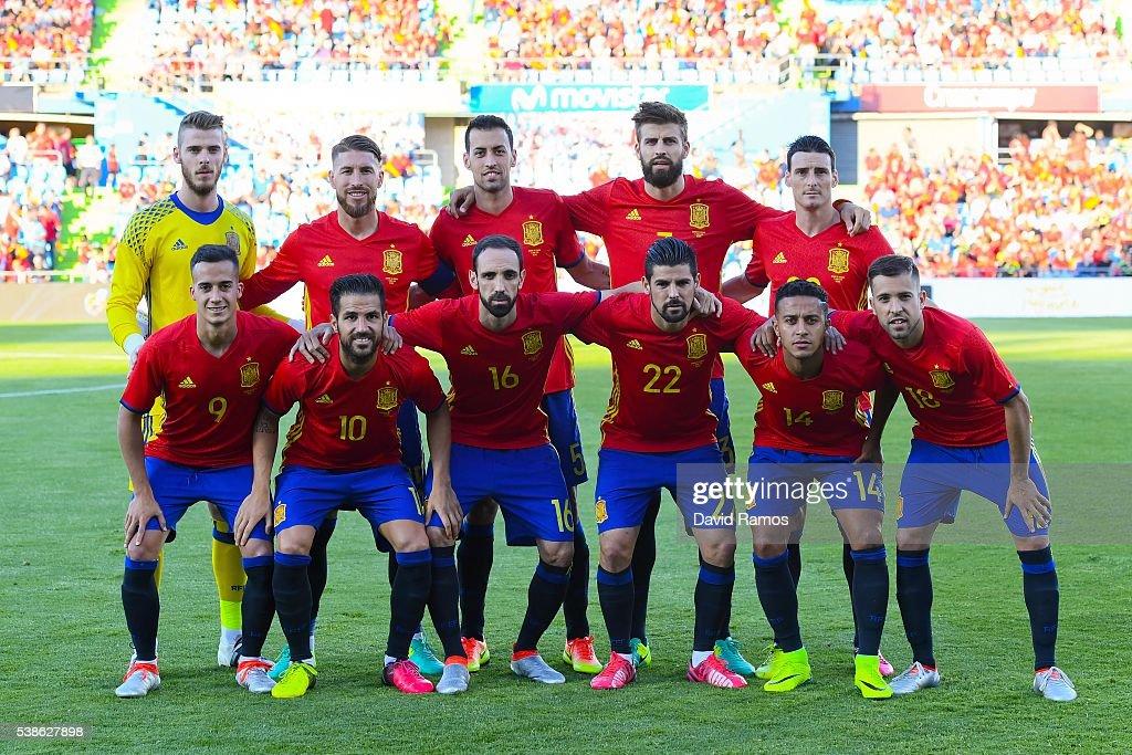 Spain v Georgia - International Friendly : News Photo