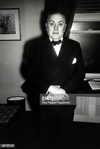 Spain Political Personalities circa 1940's Diego Martinez Barrio Spanish politician who led the Republican Union Party in the 1930's and called for...