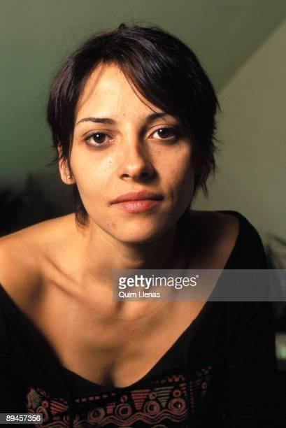 Spain. Portrait of Elizabeth Cervantes, actress.