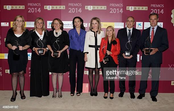 IBM Spain President Marta Martinez designer Rosa Clara Iberoamerican Secretary General Rebeca Grynspan Director of the Institute for Women Carmen...