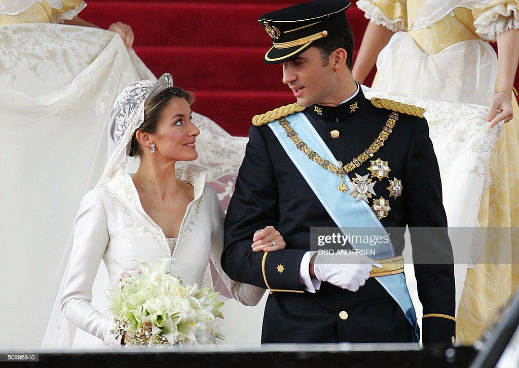 Princess of Asturias Letizia Ortiz and h : News Photo