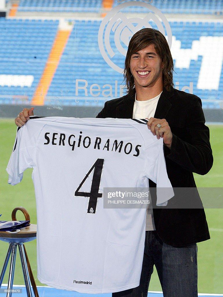 Real Madrid's new Spanish signing Sergio : News Photo