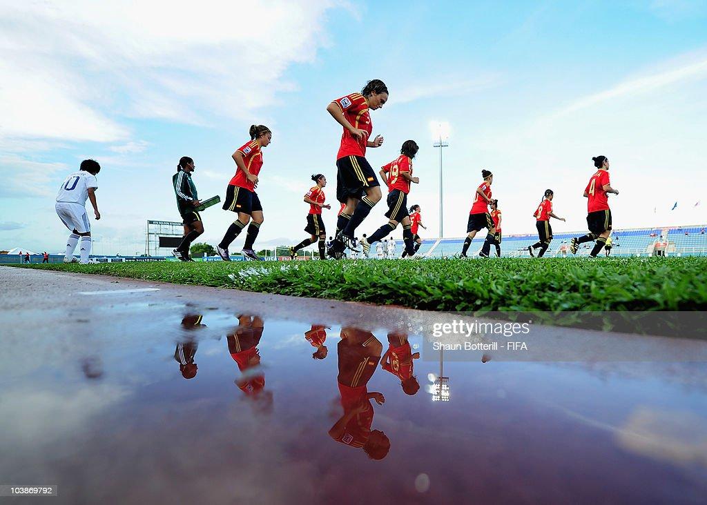 Spain v Japan - FIFA U17 Women's World Cup : Foto jornalística