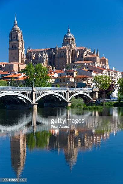 Spain, Salamanca, Salamanca Castle and Cathedral