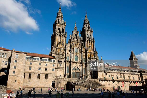 Spain Santiago de Compostela Cathedral