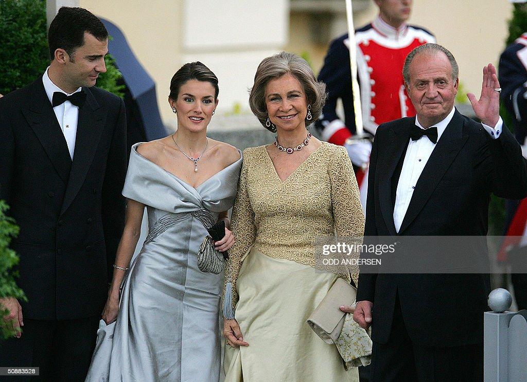 Spanish Crown Prince Felipe of Bourbon ( : News Photo
