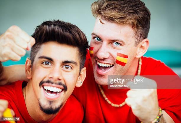 España seguidores en el estadio