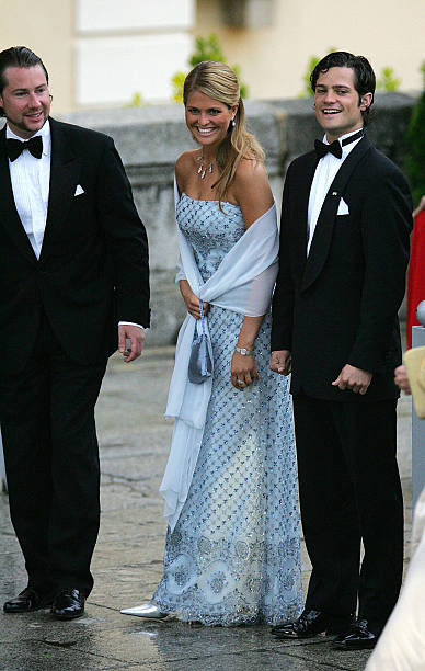 Swedish Princess Madeleine laughs with h Pictures | Getty Images