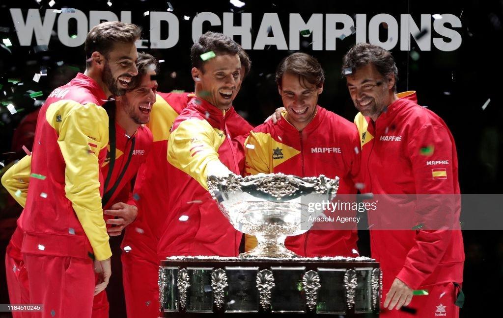 2019 Davis Cup final : Fotografía de noticias