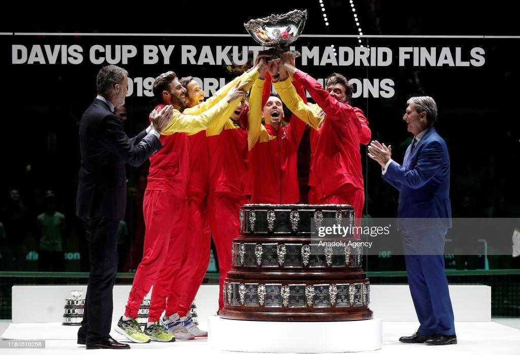 2019 Davis Cup final : News Photo
