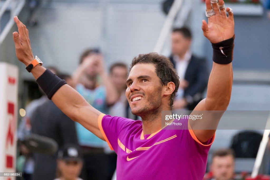 Mutua Madrid Open Tennis - Day 9 : ニュース写真