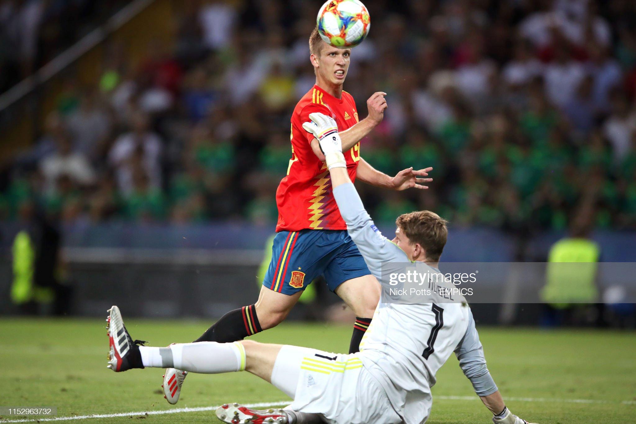 Spain U21 v Germany U21 - UEFA European Under-21 Championship - Final - Stadio Friuli : Fotografia de notícias