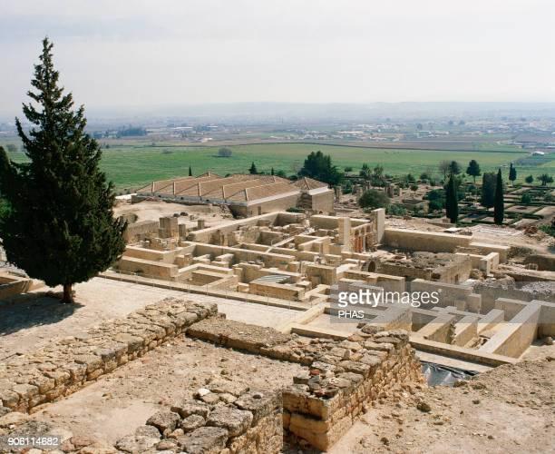 Spain Umayyad period Medina Azahara City palace built by Caliph AbdalRahman III Cordoba province Andalusia