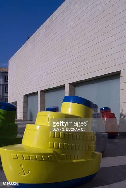 Spain - Valencia. Installation at Valencian Institute of Modern Art 'IVAM'