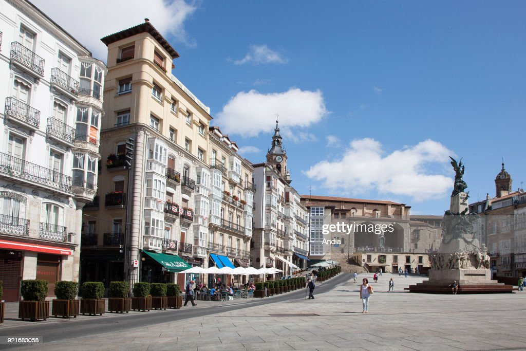 Vitoria-Gasteiz. : News Photo