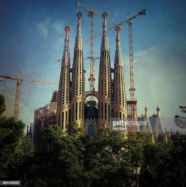 SPAIN-Barcelona, the Sagrada Familia