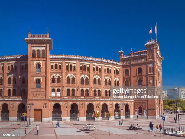 Spain,Madrid, Las Ventas bullring -Side view