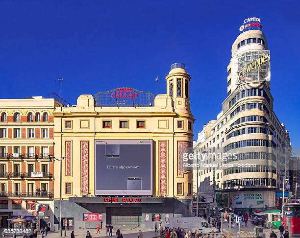 Spain,Madrid, Plaza de Callao square