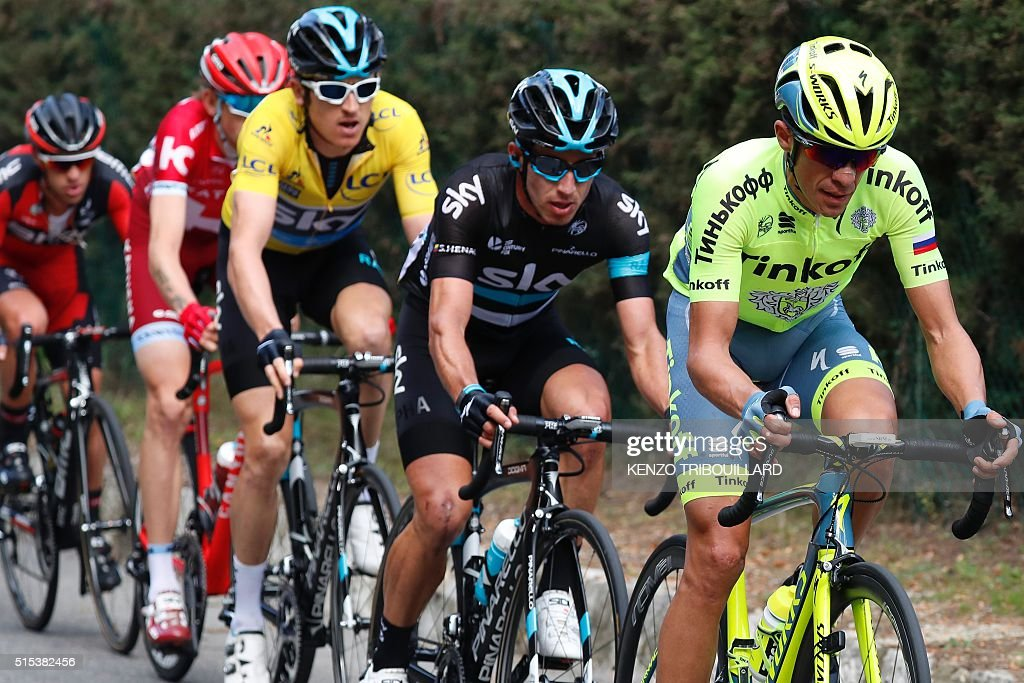 CYCLING-FRA-PARIS-NICE : News Photo