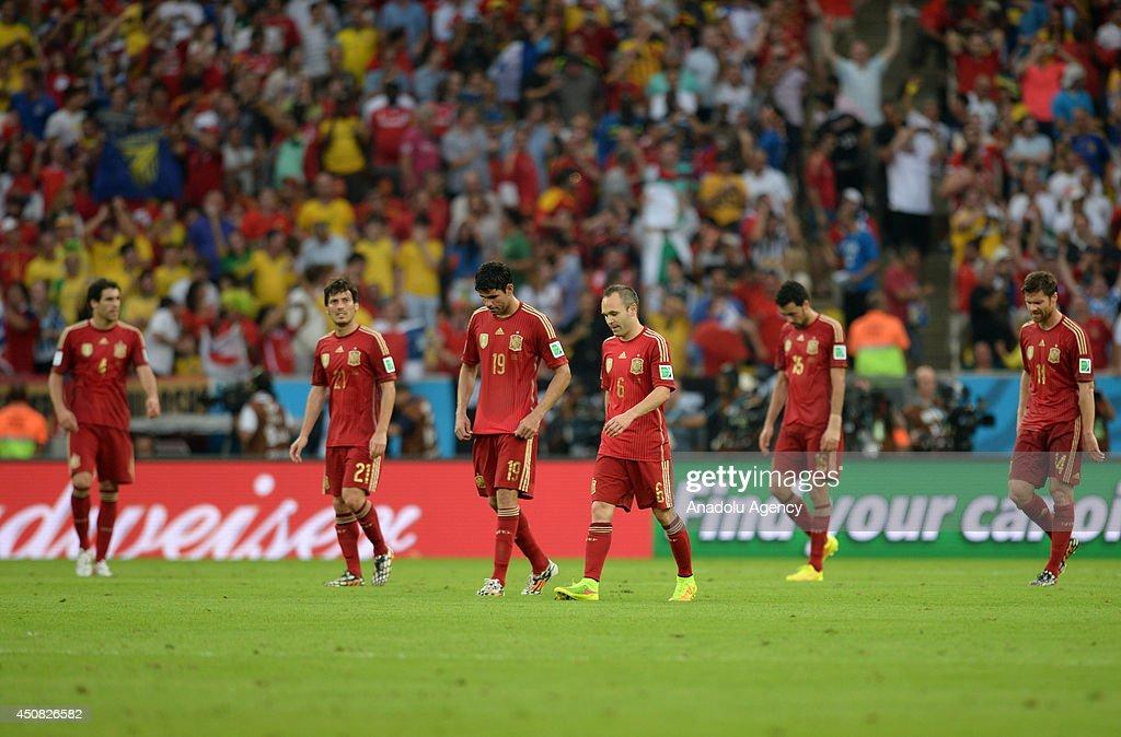 Spain v Chile - 2014 FIFA World Cup Brazil : News Photo
