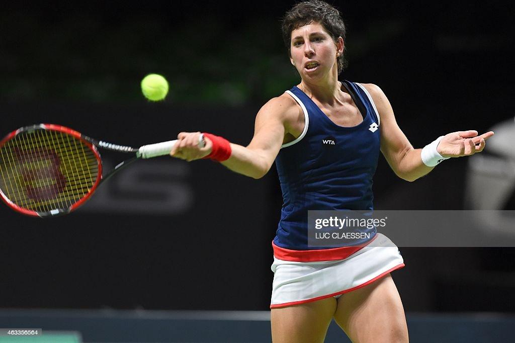 TENNIS-BEL-WTA : News Photo