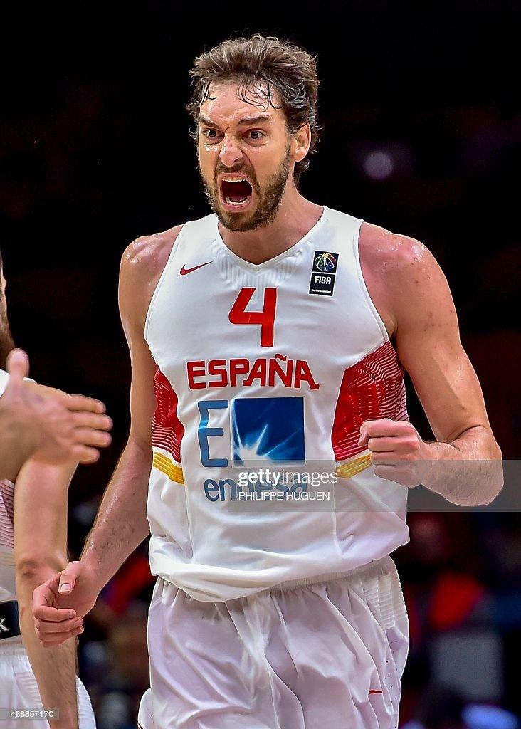 BASKET-EURO-2015-ESP-FRA : News Photo