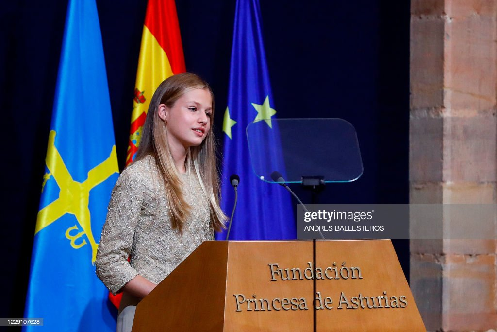 SPAIN-ASTURIAS-AWARDS-ROYALS : News Photo