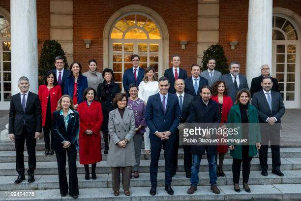 Spain's Deputy Prime Minister of Economic Affairs Nadia Calvino Spain's first Deputy Prime Minister and Minister of Presidency and Relations with...