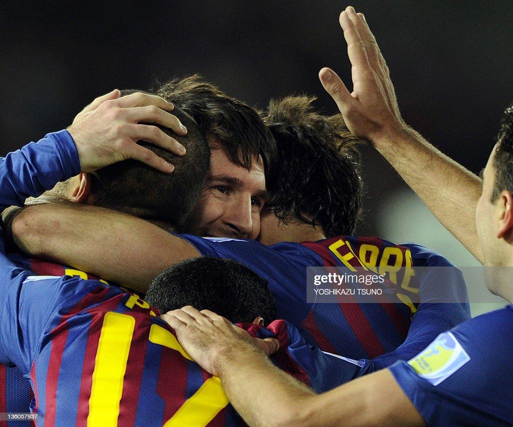 Spain's FC Barcelona forward Lionel Mess : News Photo