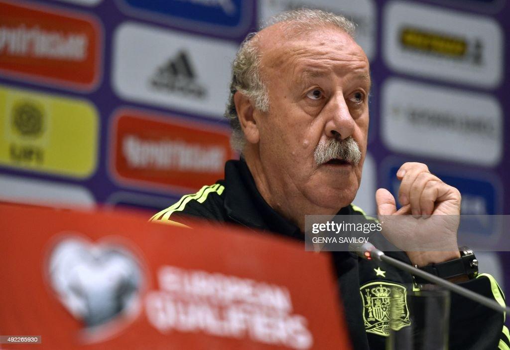 FBL-EURO-2016-SPAIN-PRESSER : News Photo