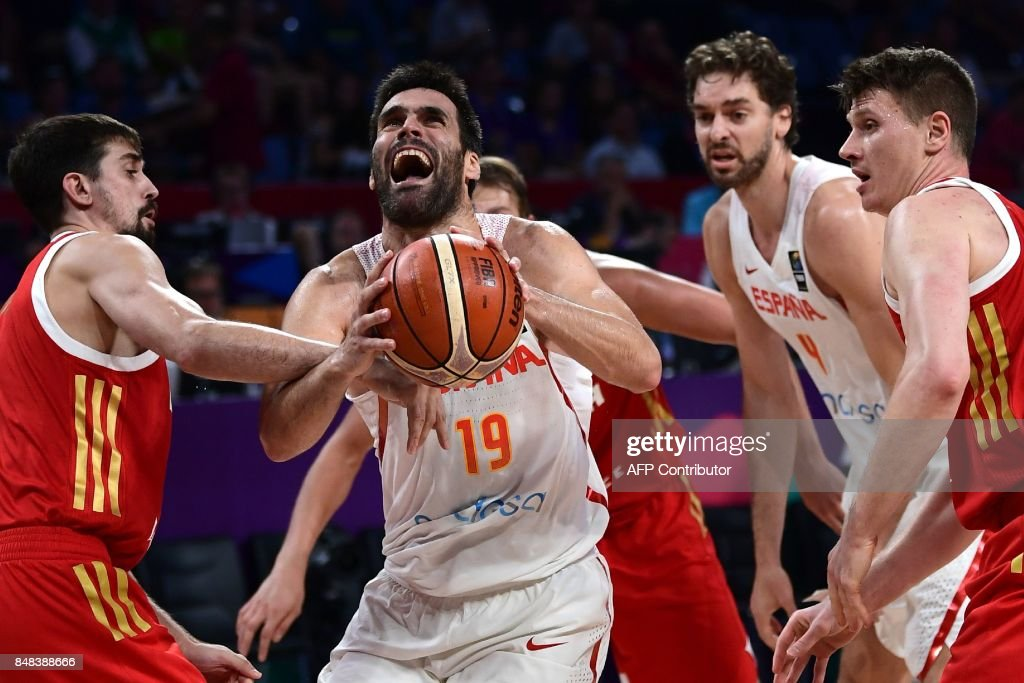 BASKETBALL-EURO-2017-ESP-RUS : News Photo