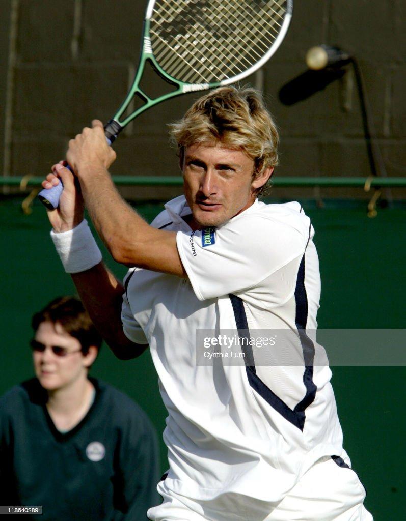2004 Wimbledon Championship - Gentlemen's Singles - First Round - Juan Carlos