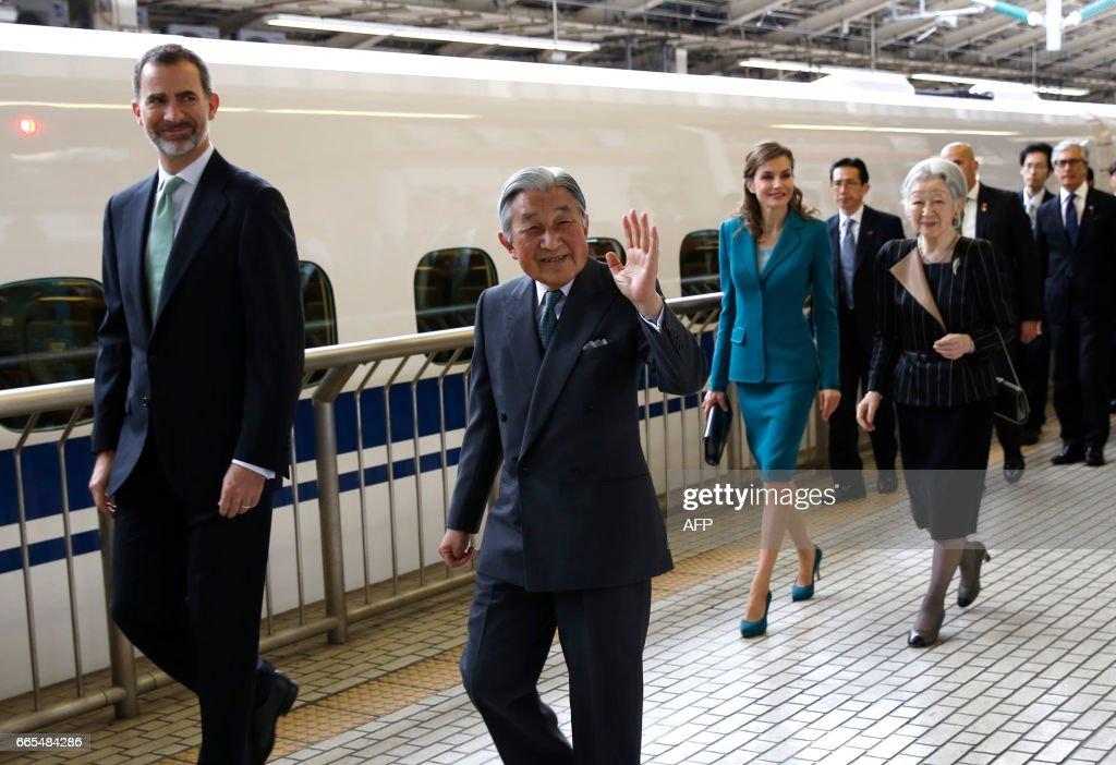 JAPAN-SPAIN-ROYALS : Fotografia de notícias