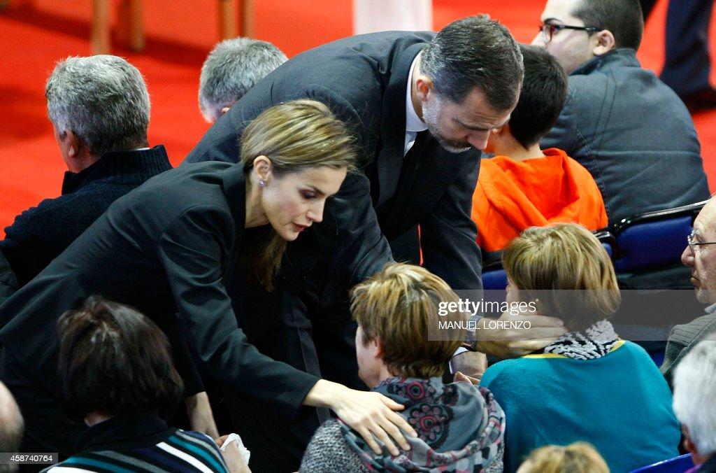 SPAIN-BUS-ACCIDENT : News Photo