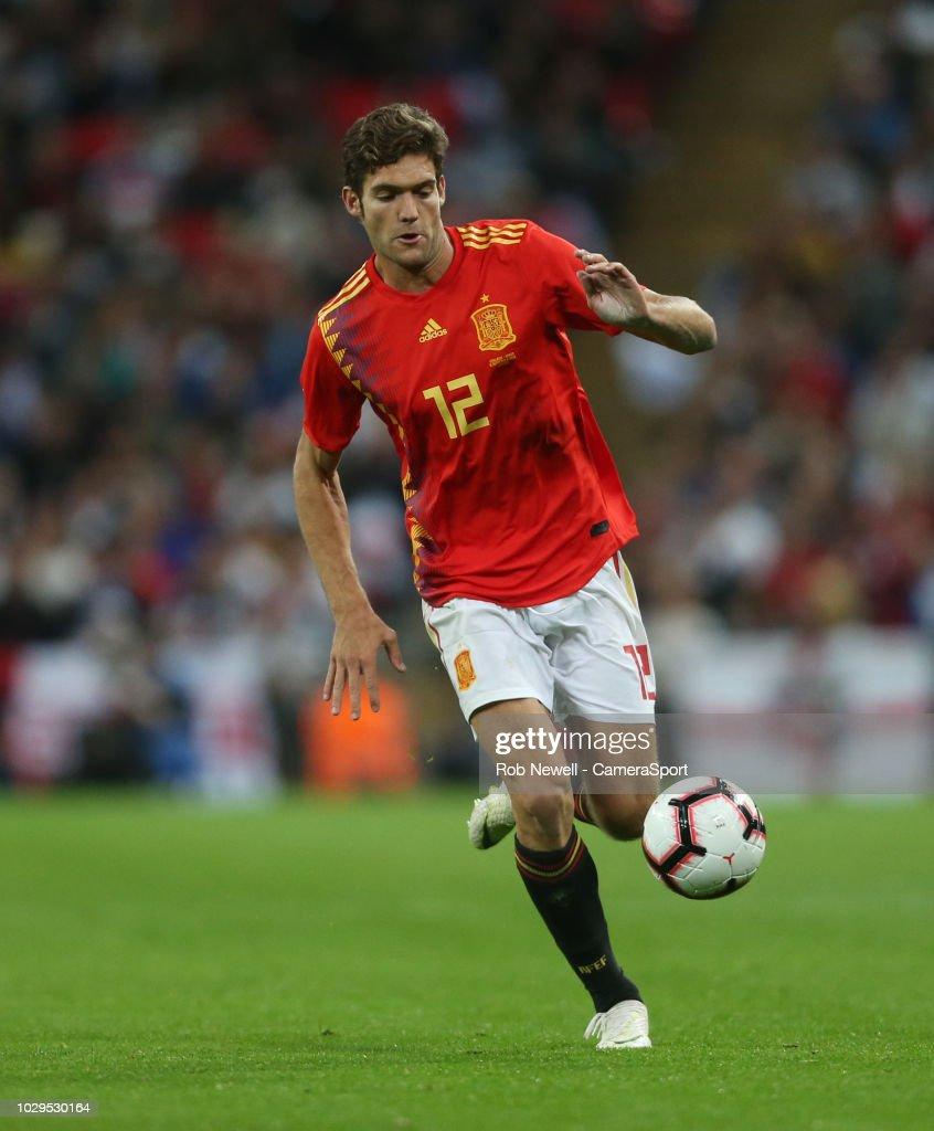 England v Spain - UEFA Nations League A : Fotografía de noticias