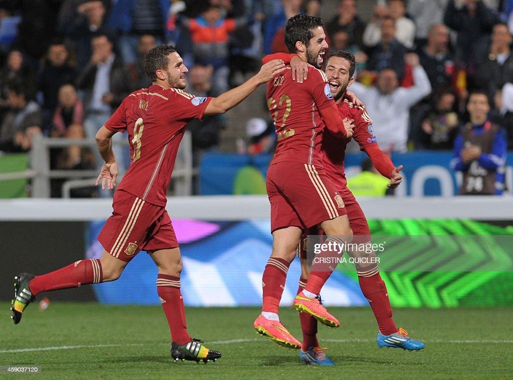 FBL-EURO-2016-ESP-BLR-QUALIFIER : News Photo