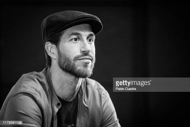 Spain's National Team and Real Madrid captain Sergio Ramos attends the presentation of his documentary series regarding his personal life El Corazon...