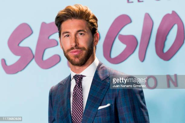 """Spain's National Team and Real Madrid captain Sergio Ramos attends the premiere of his documentary series regarding his personal life """"El Corazon De..."""