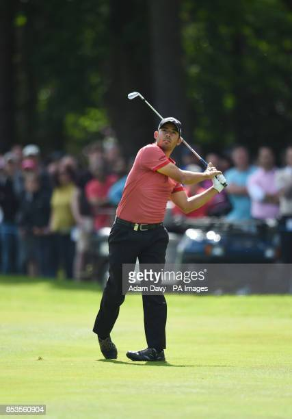 Spain's Pablo Larrazabal during day four of the BMW PGA Championships at the Wentworth Club Surrey