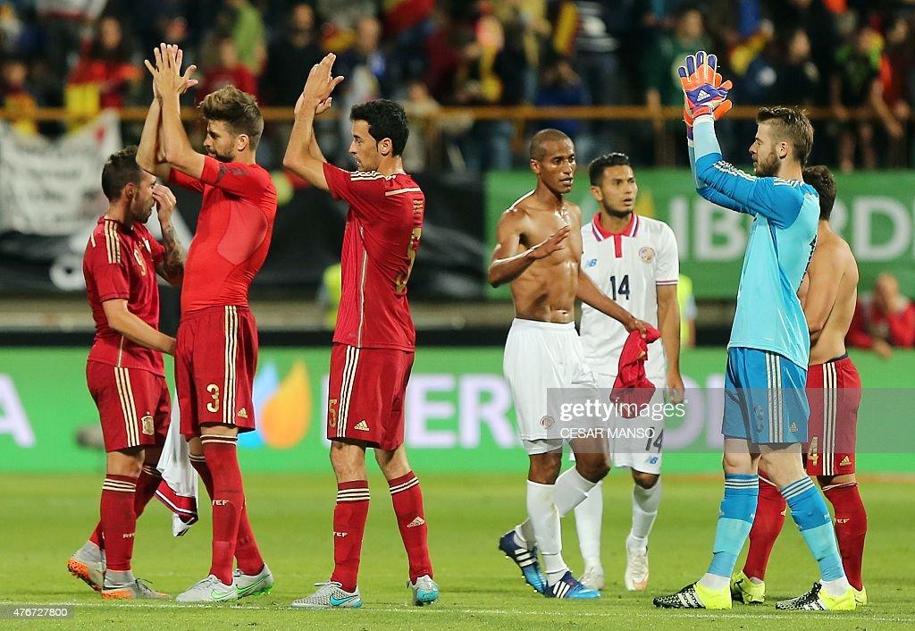 FBL-EURO-2016-FRIENDLY-ESP-CRI : News Photo
