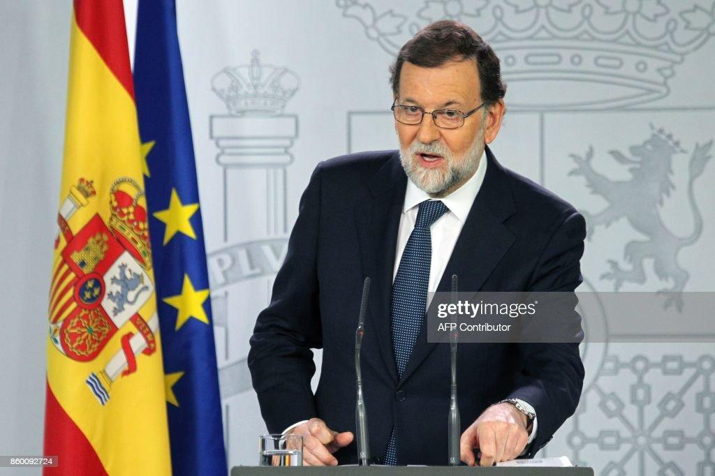 SPAIN-POLITICS-CATALONIA : News Photo