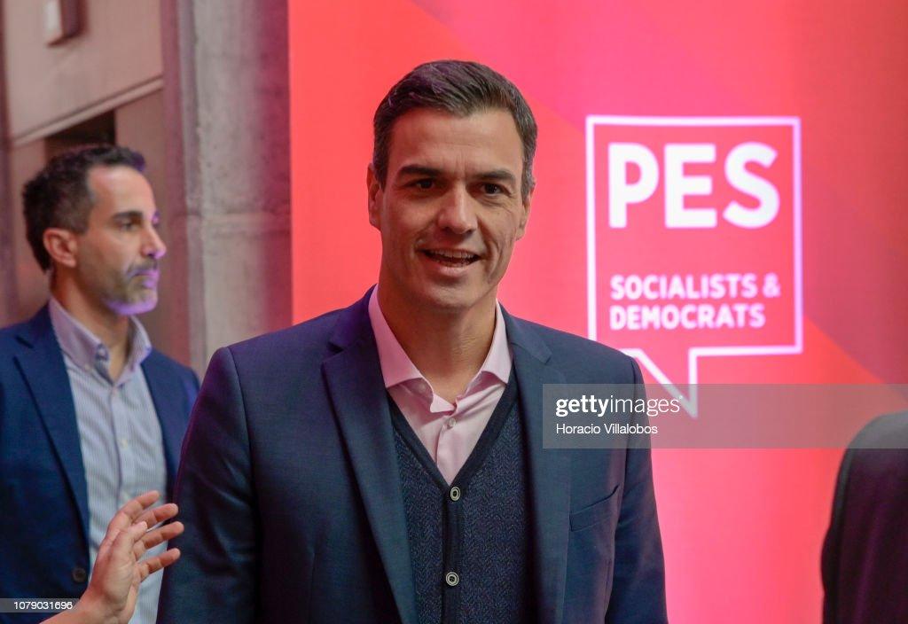 Party of European Socialists Congress 2018 in Lisbon : News Photo