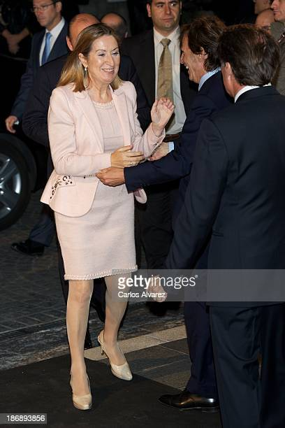 Spain's Public Works minister Ana Pastor attends 'La Razon' Newspaper 15th Anniversary on November 4 2013 in Madrid Spain