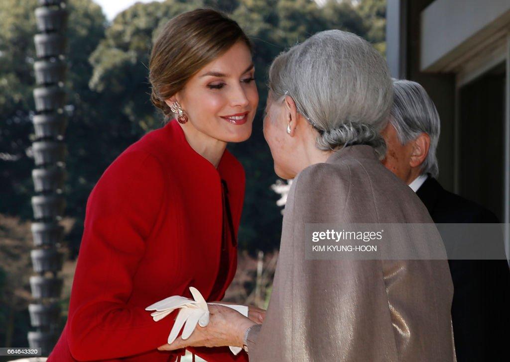 JAPAN-SPAIN-ROYALS : News Photo