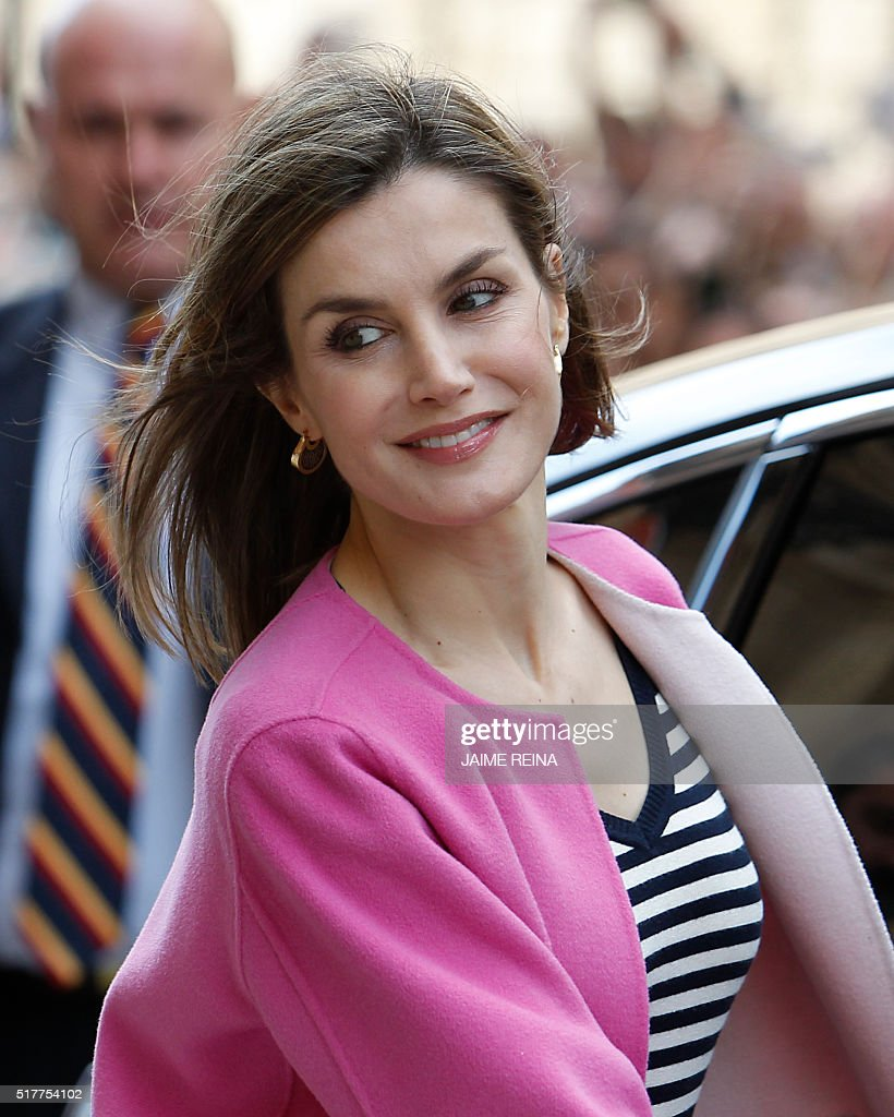 SPAIN-ROYALS-HOLY-WEEK : News Photo