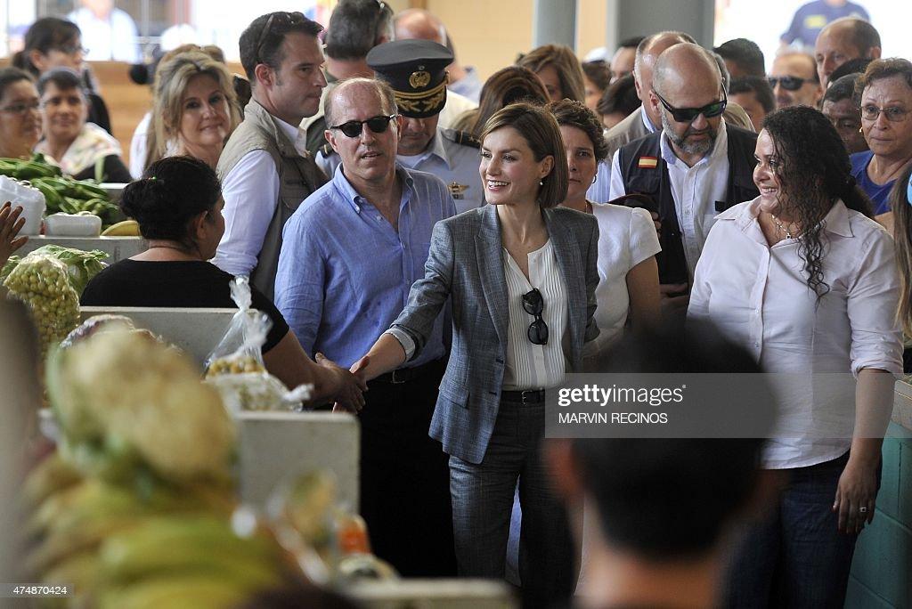 EL SALVADOR-SPAIN-QUEEN LETIZIA : News Photo