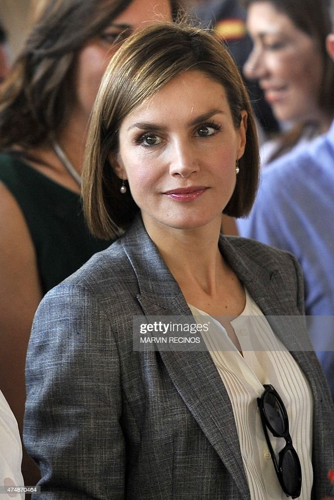 EL SALVADOR-SPAIN-QUEEN LETIZIA : News Photo