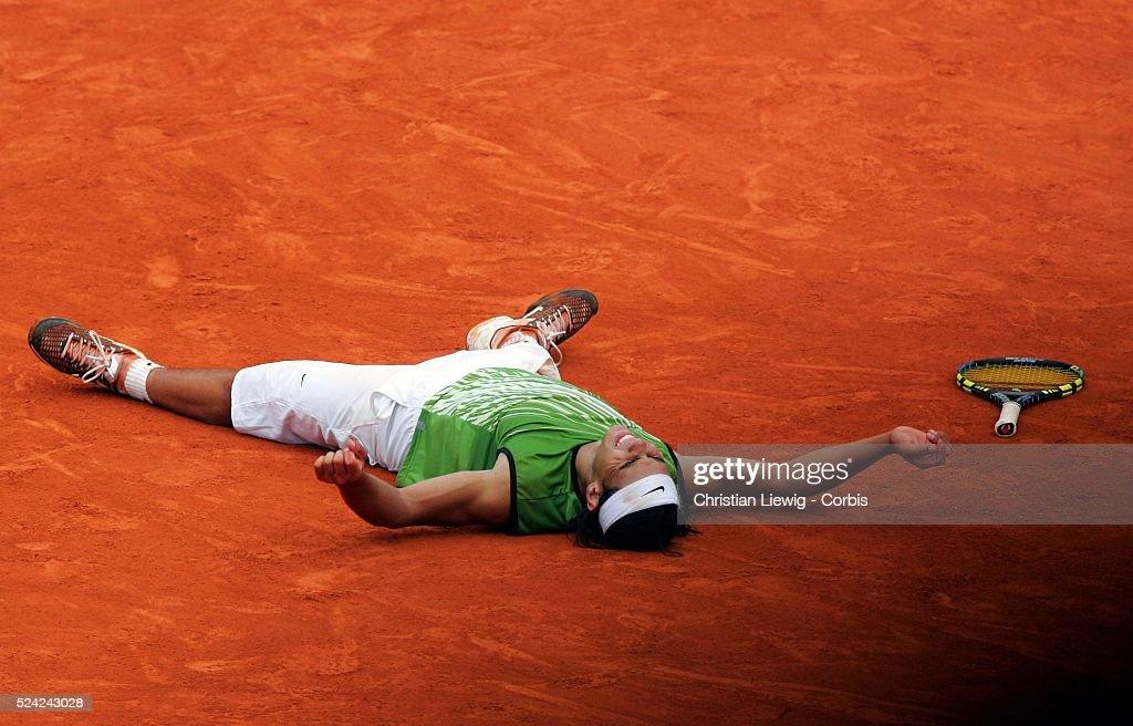 Tennis 2005 - Roland Garros French Open - Men's Final : News Photo
